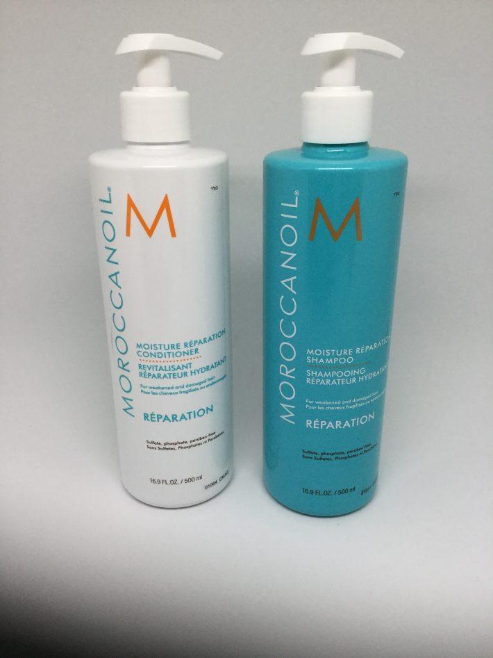 モロッカン モイスチャーリペラシオン シャンプー&コンディショナー500ml